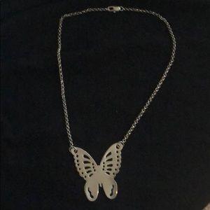 Park Lane butterfly necklace